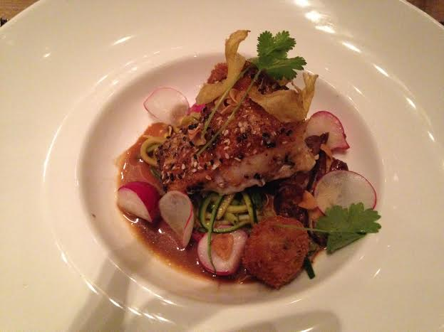 Coriander Crusted Black Cod