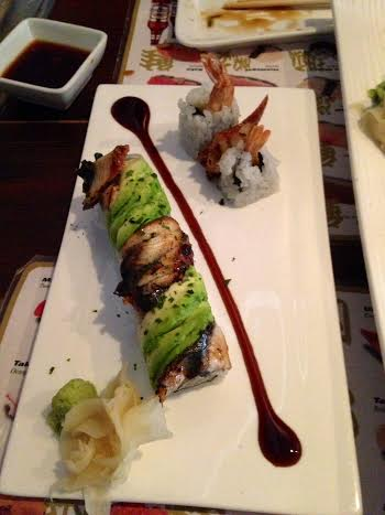 Dragon Roll $12