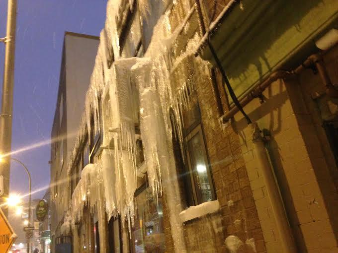Beware of Falling Ice
