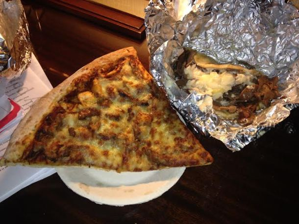 Sicilian Pizza and a Halifax Donair