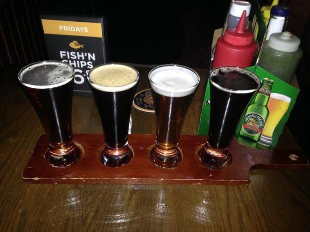 Spruce Brewery Sampler $12.95