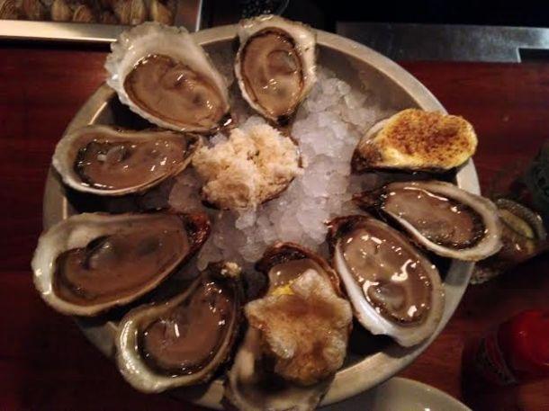 Oysters (A Buck each)
