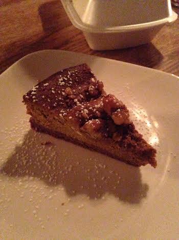 Pumpkin Walnut Cheesecake $7