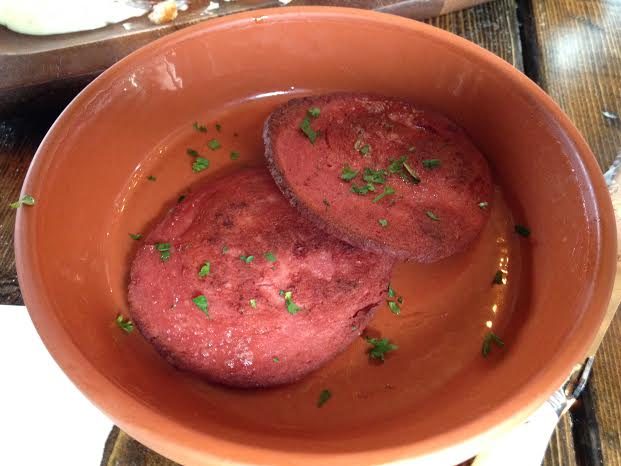 Fried Moose Bologna