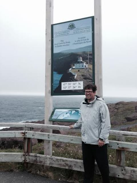Eastern Most Point In North America