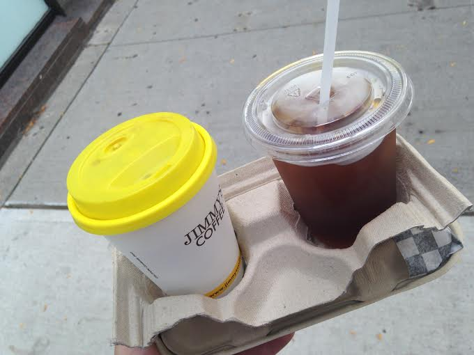 Jimmy's Americano and Iced Coffee