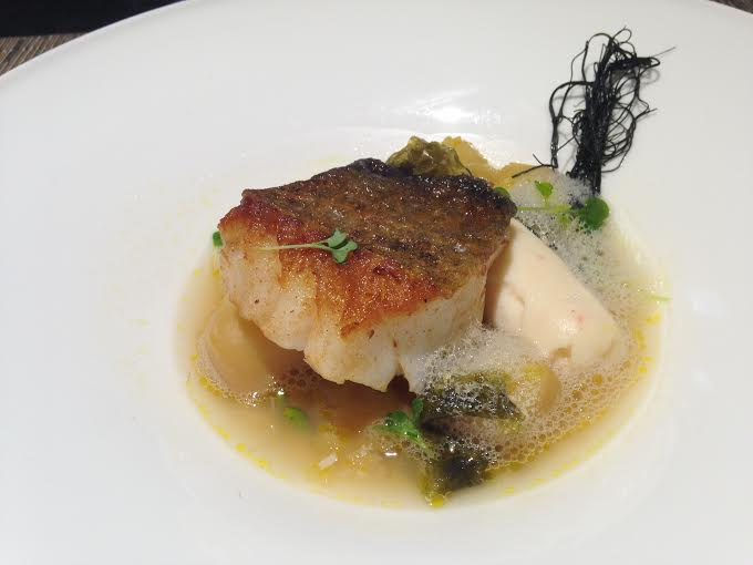 Jigged Cod and Crab Boudin
