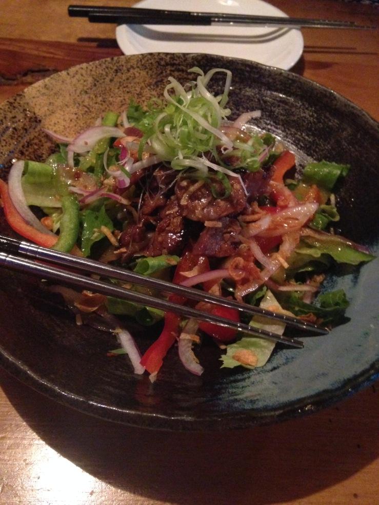 Kalbi Salad