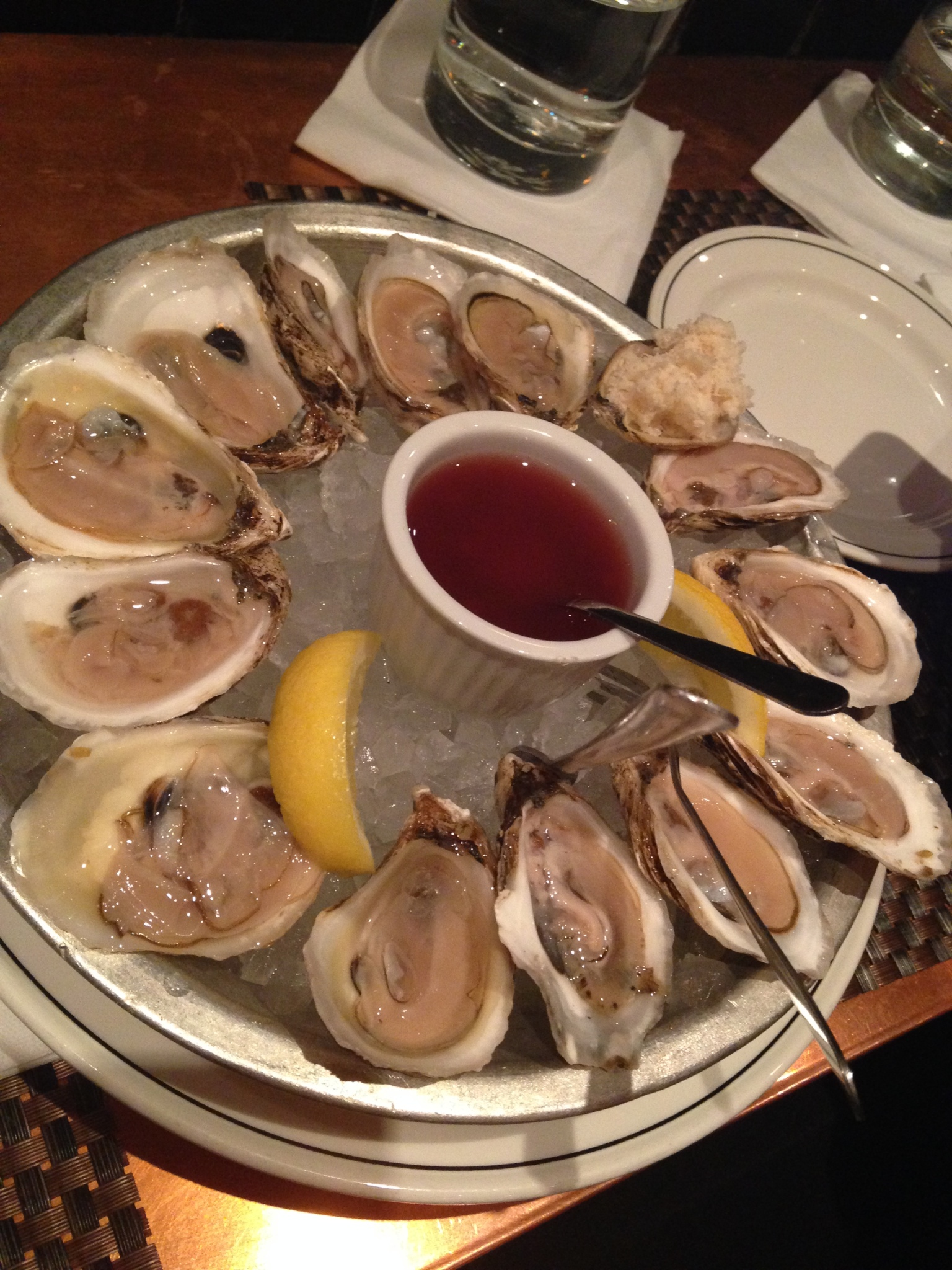 museum oysters