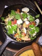 Cast-Iron Fried Sticky Rice Paella $28