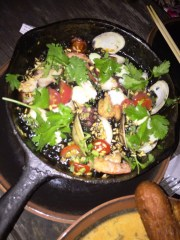 Cast-Iron Fried Sticky Rice Paella $28