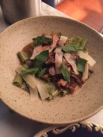 Mint Parpadelle with le Coprin mushrooms $14