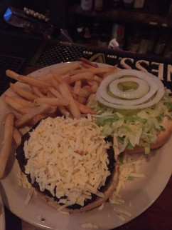 Jack Cheese Burger $9.75