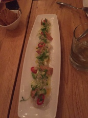 Sea Bream Ceviche $14