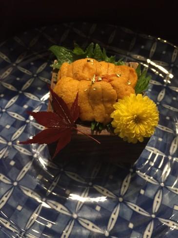 Uni Sashimi $13